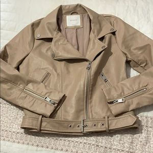 Elodie faux leather Moro jacket size small